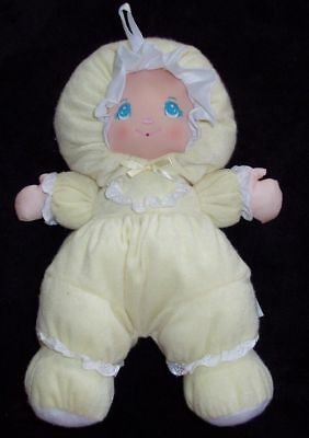 Little Darlins Darling Doll Darlin's Baby's First Yellow Terry Cloth Lovey