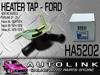 Heater Tap Suit Ford Falcon Xc Cobra Coupe 302 351 Non A/c Cable Operated