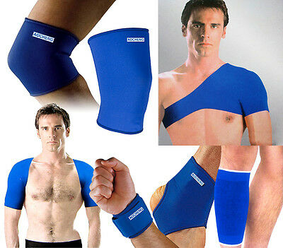 Brand New Elastic Sport Ankle Knee Wrist Shoulder Supports Straps Protector Pads