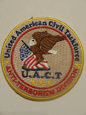 AMERICAN TASK FORCE ANTI-TERRORISM CIA AND Homeland Security - ONLY ONE ON EBAY