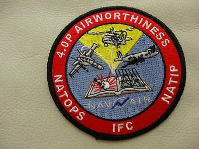 MILITARY PATCH 4.OP AIRWORTHINESS NATOPS IFC NATIP -RARE FIND- ONLY ONE ON EBAY