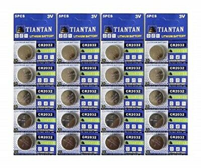 50× CR2032 TIANQIU Lithium Primary Battery Brand New Factory Direct Blister Card