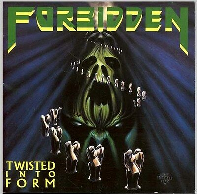 Forbidden Twisted Into Form Sealed Cd New