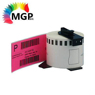 1 Compatible for Brother DK-22205 Continuous Pink Roll -62mm x 30.48m QL570