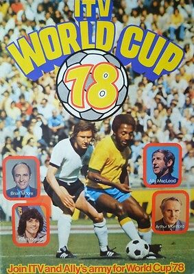 * 1978 World Cup Finals Tournament Programme (Itv Uk Edition) *