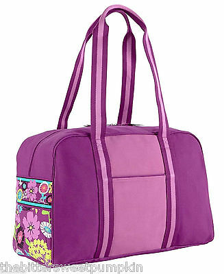 Vera Bradley~Large Colorblock Duffel Tote~Flutterby~Carry-On,travel,gym~Nwt!