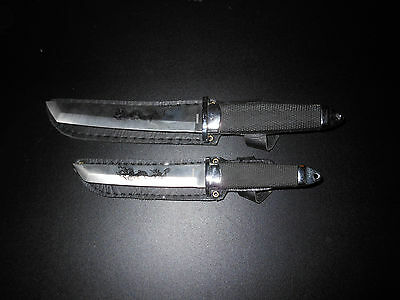 Set of 2 Dragon Knives