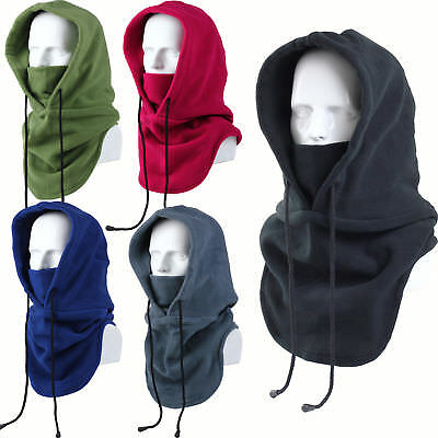 New Thermal Balaclava Full Face Outdoor Hood Swat Ski Mask Neck Warmers 5 Colors