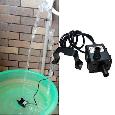 Water Pump DC12V Micro Brushless Oil ultra silencioso 240L/H 5W sumergible 0~60℃