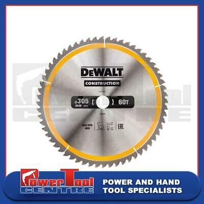 DeWalt DT1960 DT1162 Circular TCT Saw Blade 305mm x 30mm 60T Tooth for Table Saw