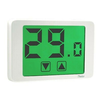 Ve434700 Thalos Termostato Touch Screen Da Parete 230V Bianco Vemer