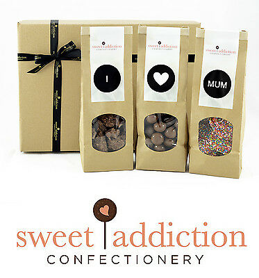 Sweet Addiction Premium Chocolate Mother's Day Gift Hamper Box - I Love Mum