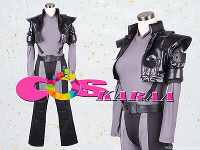 A0064[Coskaraa] GHOST IN THE SHELL Kusanagi Motoko Cosplay Costume