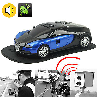 TECH English Only Sports Car Style 360 Degrees Full-Band Scanning Advanced Rada