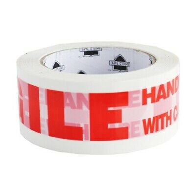 """Fragile Printed Tape 3"""" 110 Yards 6 Rolls Box Shipping Packing Tapes 2 Mil"""
