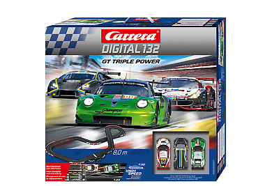 Carrera 30189 Digital 1:32 Night Contest Mercedes VS Ferrari Slot Car Race Set