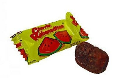 VERO CHIRRIS REBANADITAS SANDIA 40ct, Watermelon Chili Coated Mexican Candy