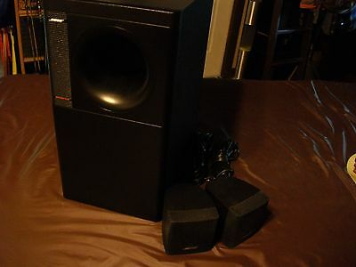 Bose® Acoustimass® 3 Series IV speaker system LOOK!!!!!!!!!!
