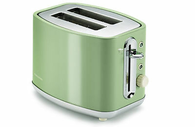 Morphy Richards 220002 Elipta Green Stainless Steel 2 slice toaster classic Retr
