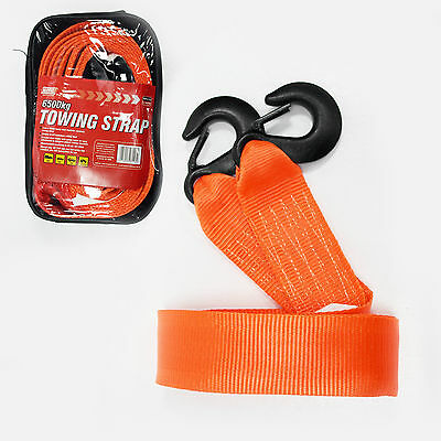 Heavy Duty Tow Strap 6500Kg (6.5ton) for roadside recovery