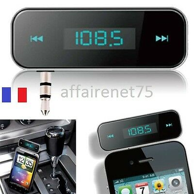 3.5mm Radio FM Transmetteur Sans Fil Pour iPhone 3/4/5/6 Samsung S3/S4/S5 / MP3
