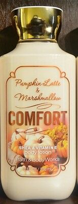 New Bath & Body Works Comfort Pumpkin Latte Marshmallow Body Lotion Cream Large