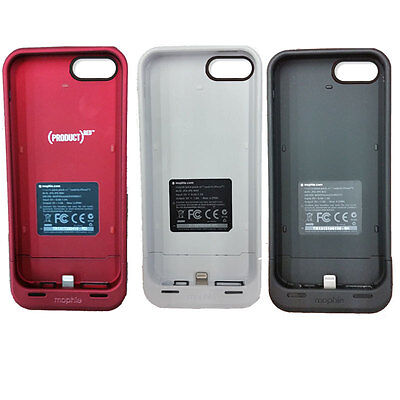 Mophie Juice Pack Air For iPhone 5s 5 1700mAh Protective Battery Charger Case