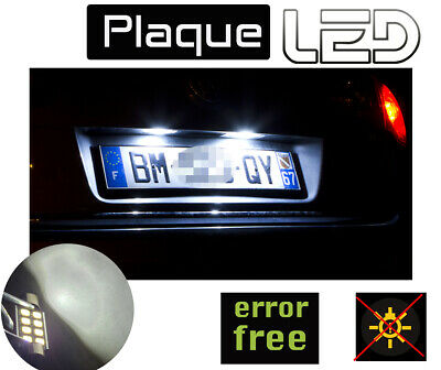 MERCEDES Casse B W245 PACK 2 Ampoules LED  Blanc Plaque immatriculation canbus