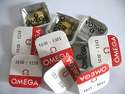 Omega 1040 Assorted Watch  Movement Parts