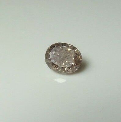 NATURAL DIAMOND .27ct Brown  Champagne Color    EARTH MINED WHOLESALE GEMSTONE