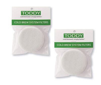 Toddy Cold Brew Filters Espresso Coffee 2 Packets of 2 filters
