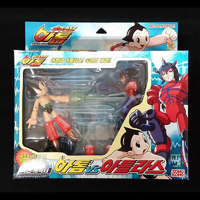Takara Mighty ATOM ASTRO BOY vs ATLAS Real Action figures set Vintage Toy 2003