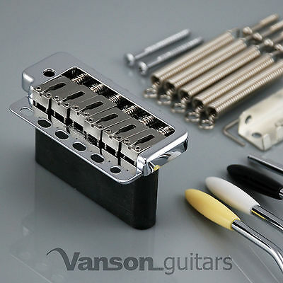 NEW Wilkinson WVP6CR SB Tremolo Bridge for Strat®, STEEL BLOCK, Vintage, WVP6 SB