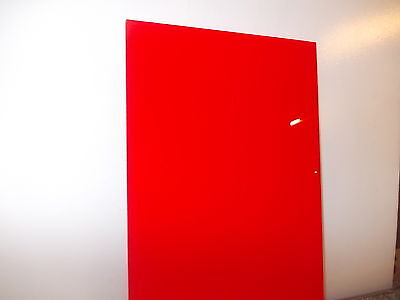 3 mm A4 Red Perspex cast Acrylic sheet 297 mm x 210 mm Signs-Arts & crafts etc