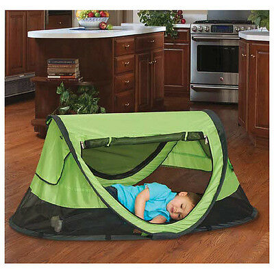 Kidco Peapod Plus Travel Bed In Kiwi Brand New P4010 100 00