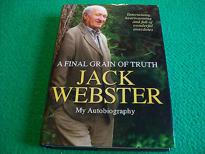 A Final Grain of Truth by Jack Webster: New Media Hardback