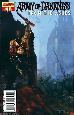 Army of Darkness : From the Ashes #1 --  Bloody Red Foil Edition  with cert