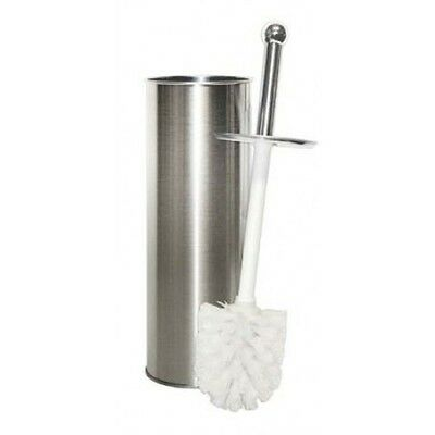 Bathroom Free Standing Stainless Steel Wc Toilet Brush Stand Holder Brand New