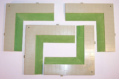 Triang Hornby Minic Motorways Set Of Four M1647 Pavement Crossroads
