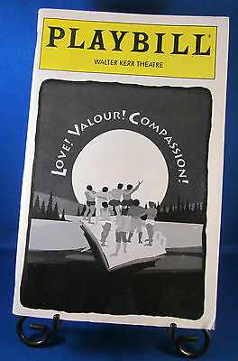 "Playbills 1990'S ""LOVE! VALOUR! COMPASSION!"" for The Manhattan Theatre Club 1995"