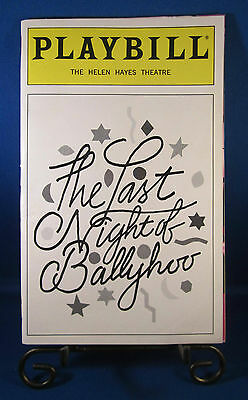 "Playbills 1990'S ""THE LAST NIGHT OF BALLYHOO"" for The Helen Hayes Theatre June98"