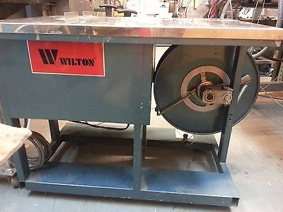 Wilton Strapping Machine (Like Poly, Vestil, Oval, Roughneck, etc.)