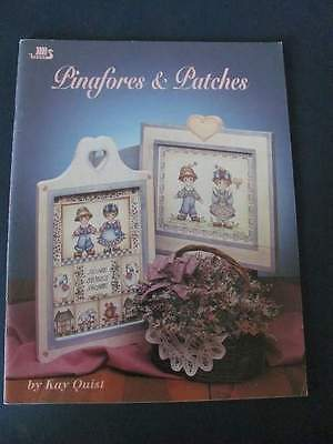 Kay Quist Pinafores & Patches Paint Art Craft Book #1176