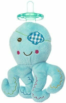 New Mary Meyer Wubbanub Infant Baby Soothie Pacifier ~ Baby Buccaneer Octopus