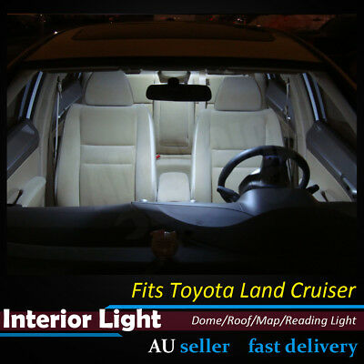 2x 24SMD Panel 5050 LED Car Interior Dome Map Light T10 BA9S Toyota Land Cruiser