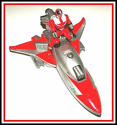 Power Rangers Time Force: Vector Wing w/ Red Ranger _ ** Must See **