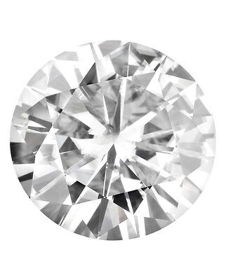 Loose Round Forever Classic 5.5mm Moissanite = 5/8 CT Diamond with Certificate