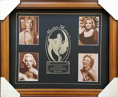 New Marilyn Monroe Memorabilia Framed