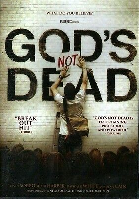 God's Not Dead DVD BRAND NEW SEALED Now Shipping