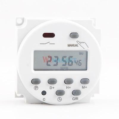 New Digital Power Programmable Timer LCD Display  DC 12V Time Relay Switch